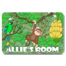 PERSONALIZED Jungle Monkey Design Indoor Room Doormat Mats Rug