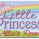 PERSONALIZED Princess Design Indoor Room Doormat Mats Rug