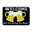 Funny BRING BEER Indoor Outdoor Doormat Mats door mat