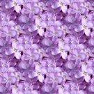 Purple Lilacs Design Indoor Room Doormat Mat Rug in Hallway, Bedroom, Dorm