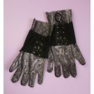 Medieval Gothic Lace Up Knight Gloves