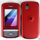 Red Snap On Cover Case for LG Shine 2 II GD710