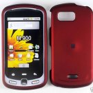 Red Snap On Cover Case for Samsung Moment M900