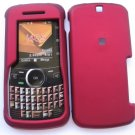 Red Snap On Cover Case for Motorola Clutch i465