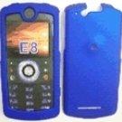 Blue Snap On Cover Case for Motorola Rokr E8