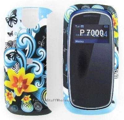 Yellow Flower Snap On Cover Case for Pantech Impact P7000