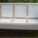 Metal Vintage Porch Patio Glider Swing Restored