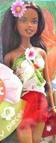 Hawaiian Hair Black Barbie Doll Christie NIB!!!