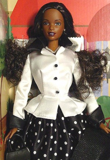 TALK OF THE TOWN Black Barbie Doll Special Edition MIB!
