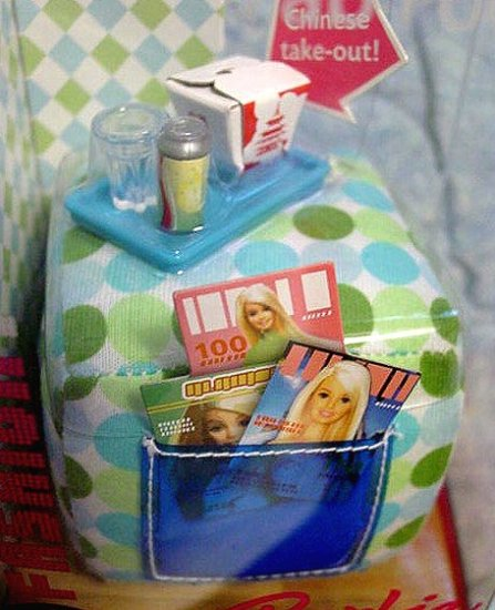 Barbie FASHION FEVER FAB FOOTREST OTTOMAN NIB!!