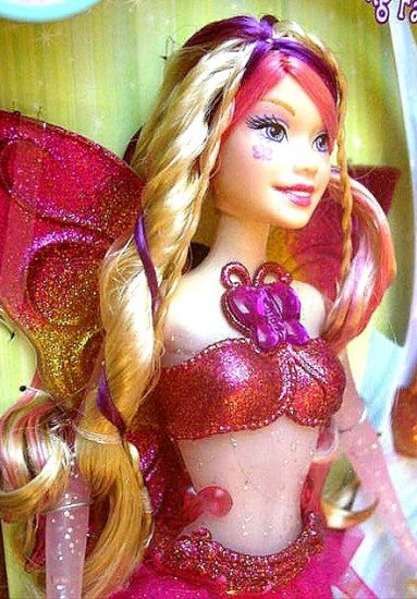 FAIRYTOPIA Glowing Barbie Doll Crystal NEW!
