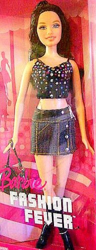 Fashion Fever Raquelle Barbie Doll New In Box!!