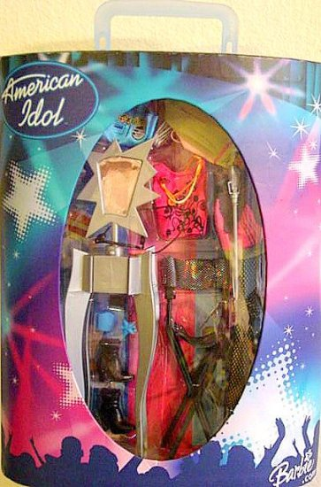 American Idol Barbie Stage / Case New!!