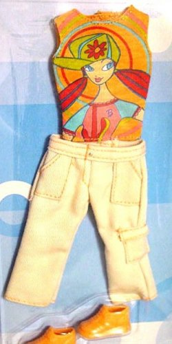 Barbie Doll T-Shirt Capris & Shoes MIP!!!