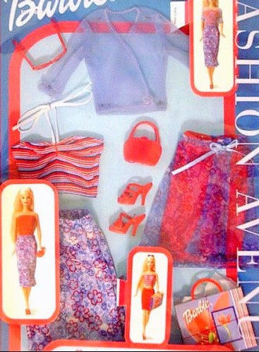 FASHION AVENUE Barbie Doll Clothes Mix & Match MIP
