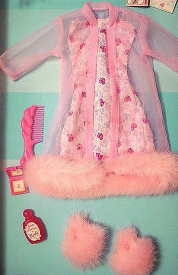 Barbie Clothes Fashion Ave LINGERIE GOWN & ROBE