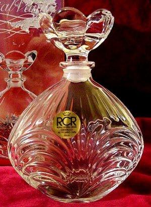 Crystal Vanity Perfume Bottle Decanter New In Box!