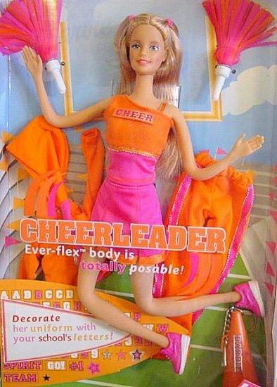 Cheerleader Barbie Ever-Flex Body  New In Box!!