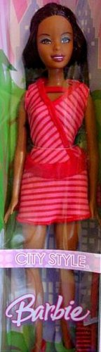 Nikki Barbie Doll City Style Black Barbie Doll New in Box!!!