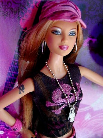 Hard Rock Barbie® Doll Collector Doll # K7906 New in Box!!