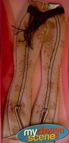 My Scene Barbie Doll Clothes Bell Bottom Pants NIB!