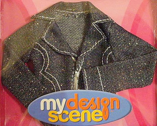 My Scene Barbie Doll Clothes Denim Jacket  NIB!