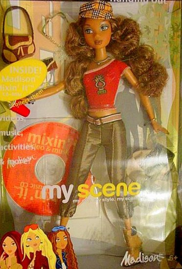 My Scene HANGING OUT Madison Barbie Doll