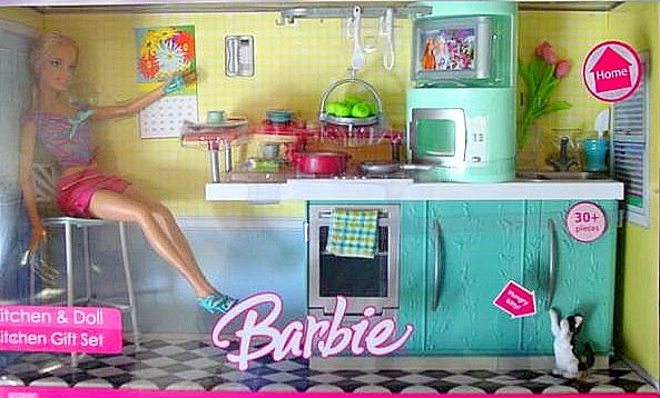 Kitchen and Doll Kitchen Gift Set New in Box!!