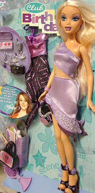 MY SCENE Birthday Club Barbie Gift Set