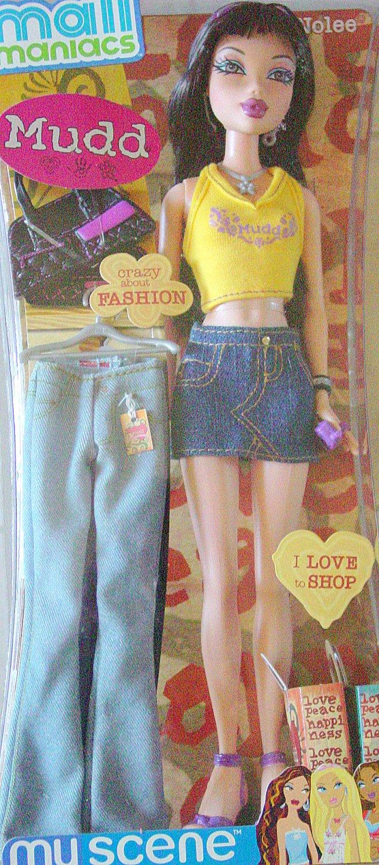 MY SCENE Mall Maniac Nolee Barbie Doll New in Box!