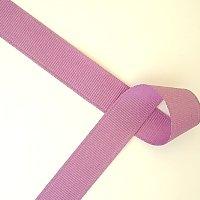 """7/8"""" Solid Grosgrain Ribbon - 5 yards - Chalk Violet"""