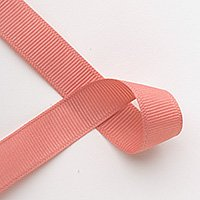 "7/8"" Solid Grosgrain Ribbon - 5 yards - Dusty Rose"