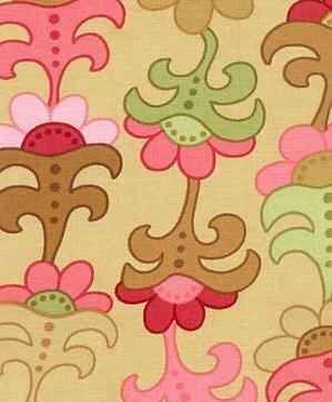 Moda�s Woodland Bloom By Lila Tueller Pattern: #16011 - 1 yard