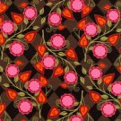 Michael Miller - Patty Young's Andalucia - Flora - Pattern# DC3902_Earth - 1 yard