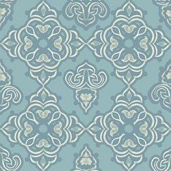 Studio E Fabrics - Audrey Jeanne Roberts - Deja Brew Coffee Damask TUR - 1 yard