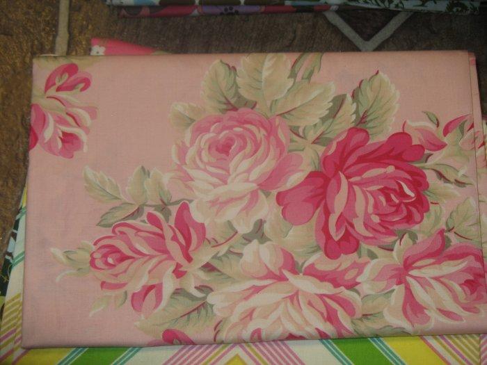 Free Spirit - Tonya Whelan - Grand Revival - Ava Rose - Large Roses - Pattern #: TW04 - 1 yard