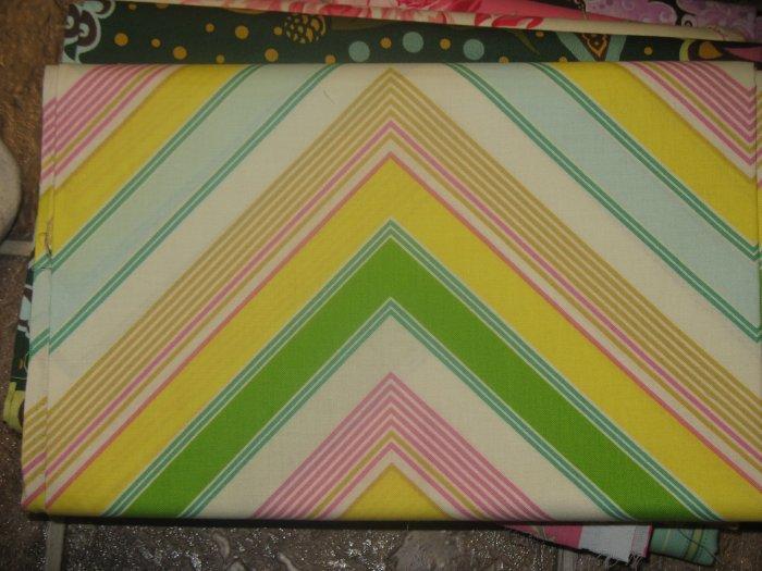 Free Spirit - Heather Bailey - Pop Garden - Zag Stripe - Pattern #: HB05 - 1 yard