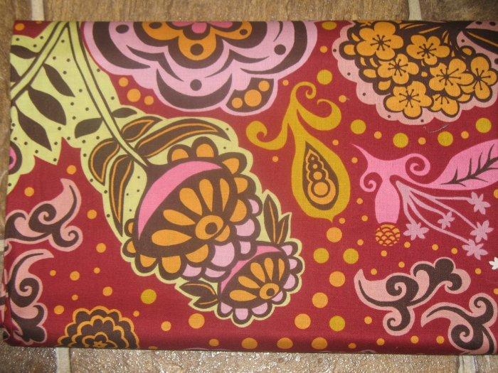 Free Spirit By Anna Maria Horner - Chocolate Lollipops - Pattern: D1650-632 - 1 yard