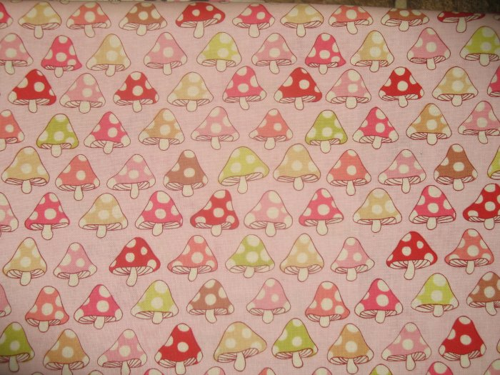 """The Alexander Henry Fabrics Collection - """"Toadstool"""" - 1 yard"""