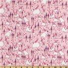 Free Spirit - Jay McCarroll - Garden Friends Funny Bunnies Pink