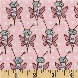 Free Spirit - Jay McCarroll - Garden Friends Ivy League Bees Pink