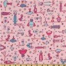 Free Spirit - Jay McCarroll - Garden Friends Love Birds Pink