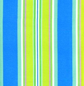 Free Spirit - Dena Designs - Monaco Narrow Stripe Blue