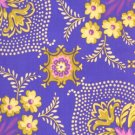 Free Spirit - Jennifer Paganelli - Pretty Please Ann Flower Mural Purple