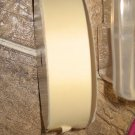 "1-1/2"" - Solid - Grosgrain Ribbon - Cream - 5 yards"