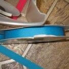 "5/8"" - Solid - Grosgrain Ribbon - Aqua - 5 yards"