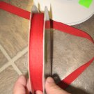 "5/8"" - Solid - Grosgrain Ribbon - Red - 5 yards"