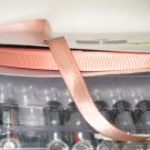"3/8"" GROSGRAIN RIBBON - PEACH  -  5 yards"