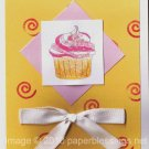 Cupcake Swirl card - set of 6