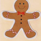 Computer-Stamped Images- Gingerbread Boy